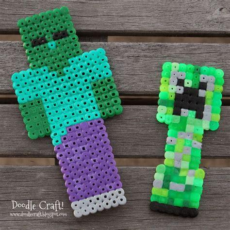 perler minecraft minecraft perler bead crafts