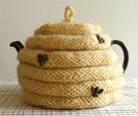 how to knit a tea cosy for beginners spouted beehive tea cozy by dawnbrocco craftsy