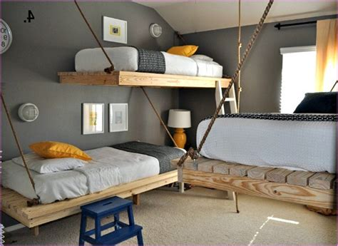 small bedroom bunk beds diy bunk bed designs ideas for small rooms