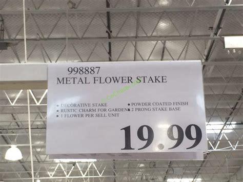 Costco 998887 Metal Inside Outside Garden Flower Stake tag ? CostcoChaser