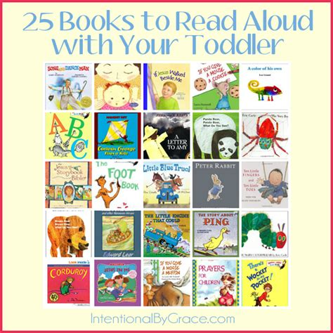 reading picture books 25 books to read aloud with your toddler intentional by