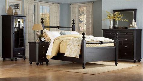black style bedroom furniture black casual cottage style bedroom w optional casegoods