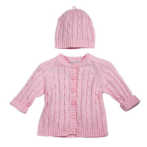 baby cable knit sweater baby cable knit cableknit cardigan sweater hat