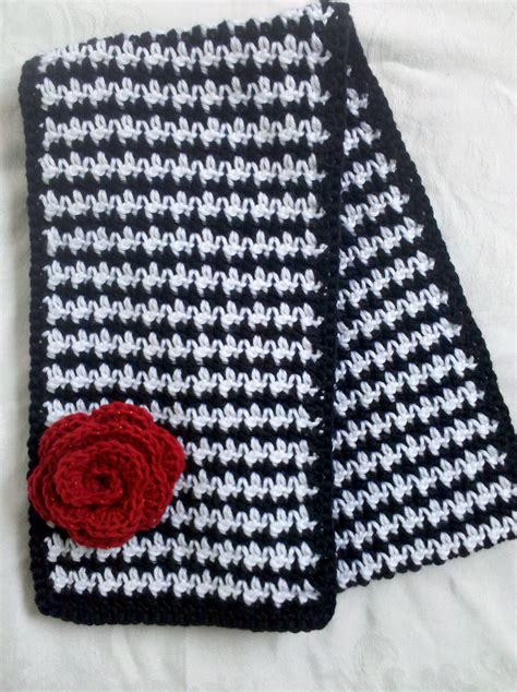how to knit houndstooth houndstooth knit scarf patterns patterns kid