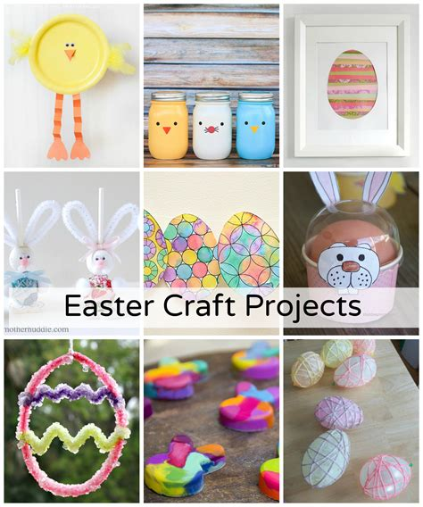 crafting projects diy easy easter craft projects the idea room