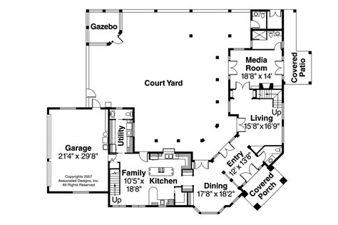mediterranean house plans veracruz 11 118 associated designs