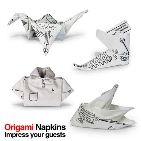 origami with napkins origami napkins gifts zavvi