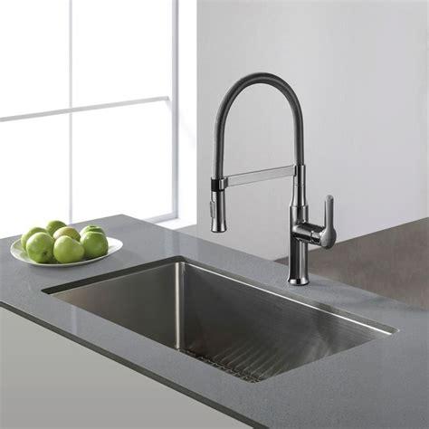 kraus kitchen sinks undermount kraus 30 inch undermount single bowl 16 stainless