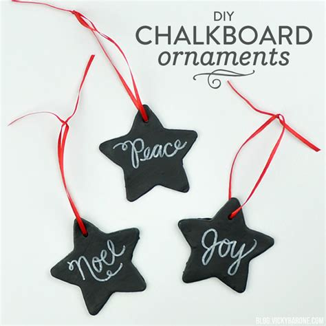 diy chalkboard ornaments diy chalkboard ornaments barone