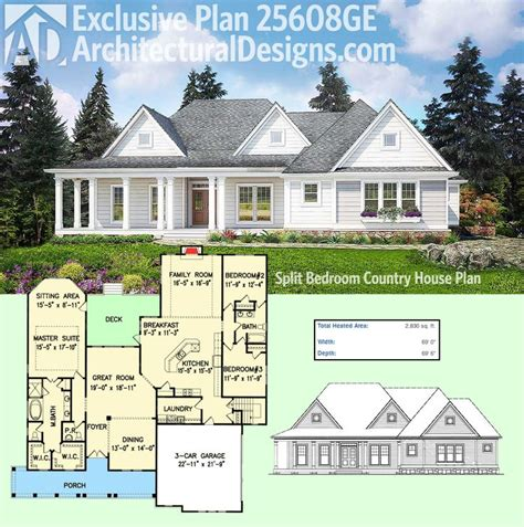 farmhouse house plan best 25 country farmhouse exterior ideas on