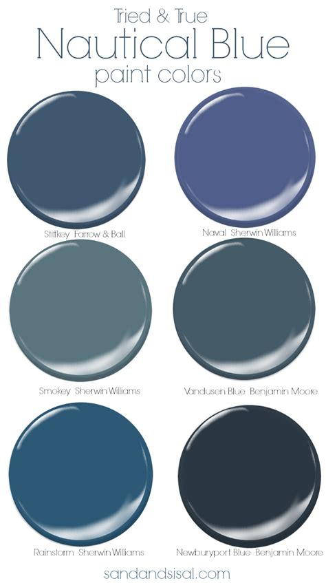 paint colors for blue tried and true nautical blue paint colors sand and sisal