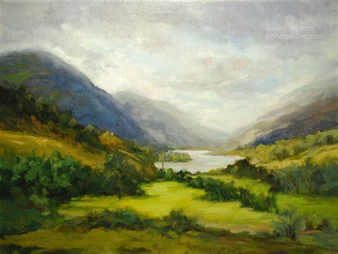 painting landscapes loch shiel scotland landscape painting