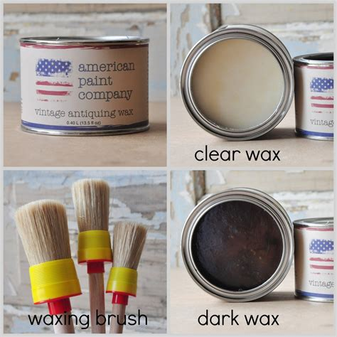 chalk paint american american paint company on waxing painted