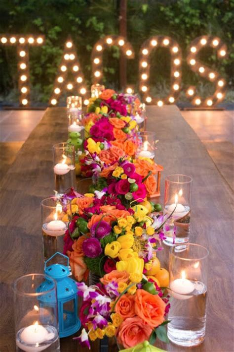 mexican themed beautiful bridal mexican themed wedding reception