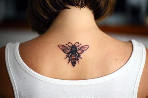 my newest accessory bee tattoo on what i wore