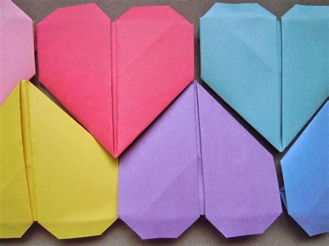 origami hearts origami garland hiragana