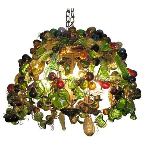 murano glass fruit chandelier xdscn0126 jpg