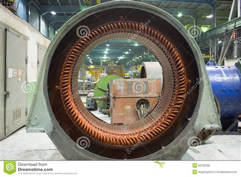 Big Electric Motor by Stator Of A Big Electric Motor Stock Photo Image 50782326