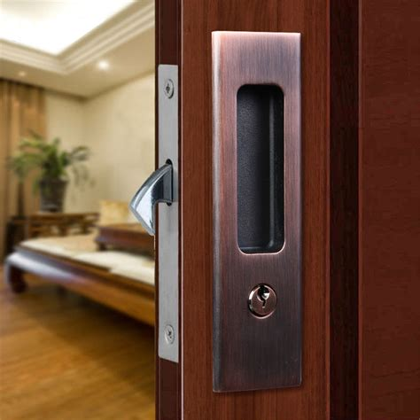barn door lock hardware invisible door lock sliding wood barn door locks door