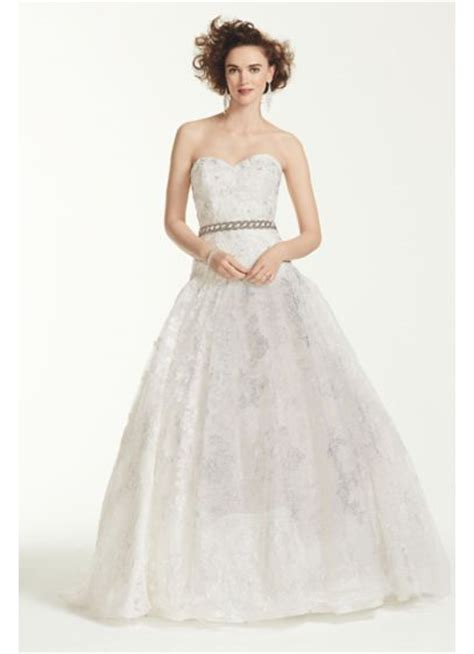 oleg cassini beaded dress oleg cassini all lace beaded wedding dress david s