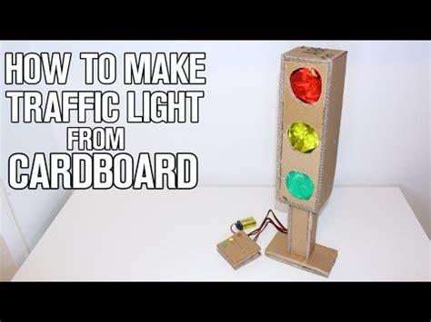 make lights how to make traffic light from cardboard