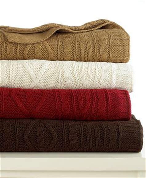 sweater knit blanket ralph blanket aran sweater knit throw