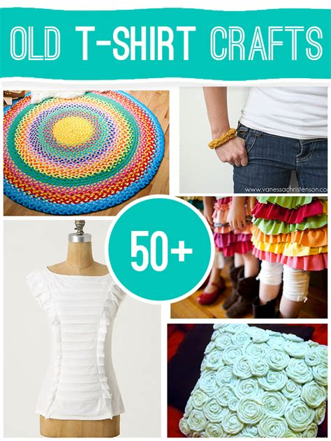 t shirt crafts projects 50 projects to make using t shirts who doesn t