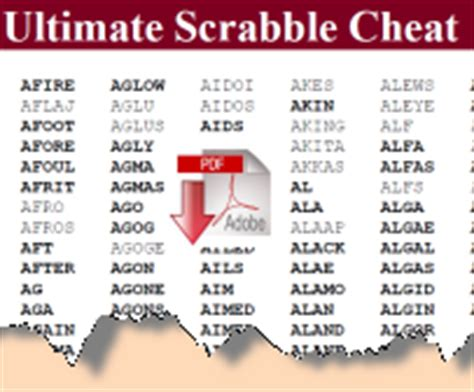 scrabble sheet words word newsletter members pages