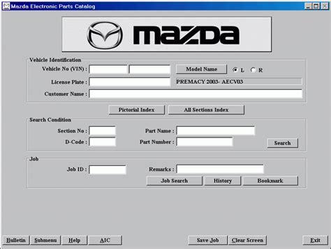 download car manuals 2007 mazda mazda3 spare parts catalogs mazda europe lhd 2011 spare parts catalog download