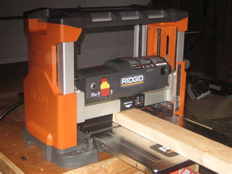 woodworking planer reviews review 13 quot bench top planer reconditioned by fireguy