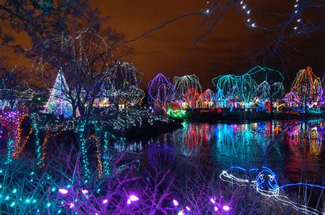 zoo lights columbus hours columbus zoo wildlights lights some