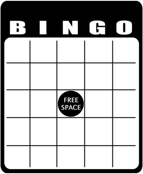 make your own bingo cards template blank bingo template 49 printable bingo card templates