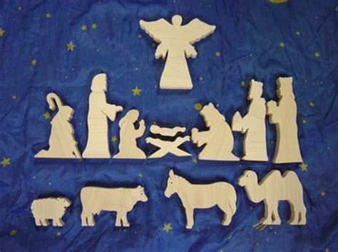 nativity silhouette woodworking patterns manger silhouette pattern new calendar template site
