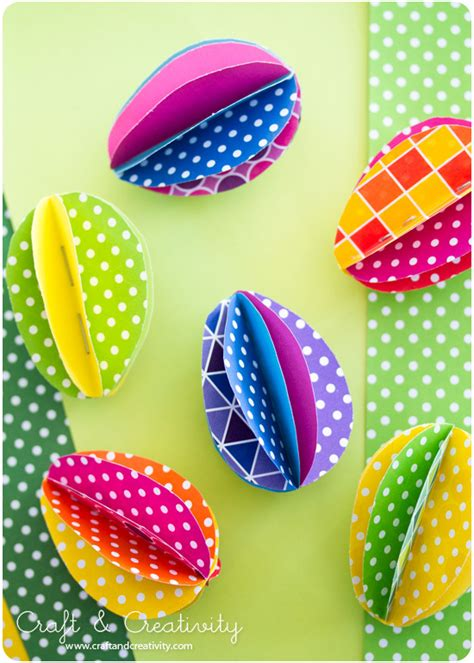 easter egg paper crafts easter ideas 8 and easy crafts using paper