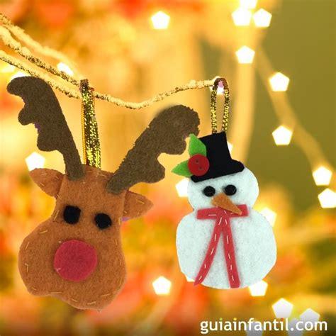 adornos arbol de navidad manualidades adornos de fieltro para el 225 rbol de navidad manualidades