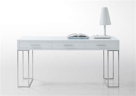 white modern office desk sheldon modern white lacquer desk