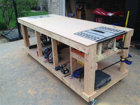 make a woodworking bench building your own wooden workbench make