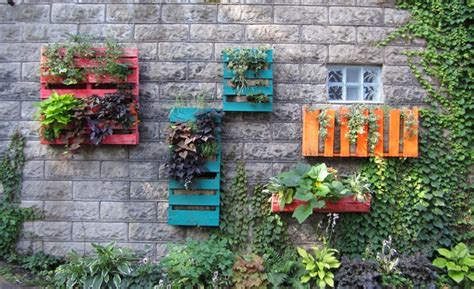 hanging wall garden 1000 images about vertical gardens on