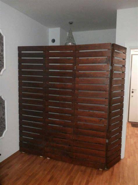 room dividers diy diy pallet room divider ideas pallet wood projects