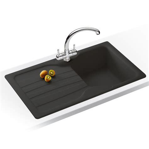 graphite kitchen sinks franke calypso 1 0 bowl granite graphite black kitchen