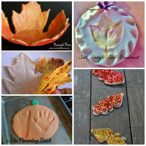 craft ideas for ornaments fall salt dough ornaments craft ideas crafty morning