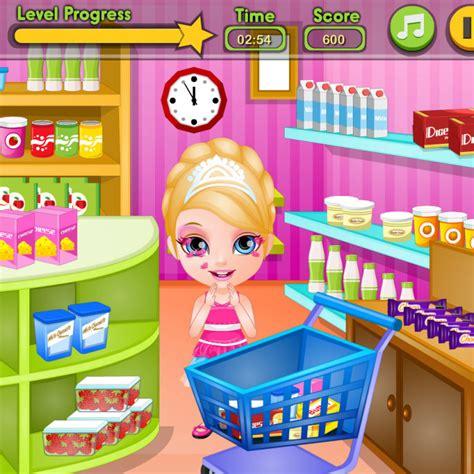 juegos de barbie cocina juego de comprar con barbie para hacer tarta juegos