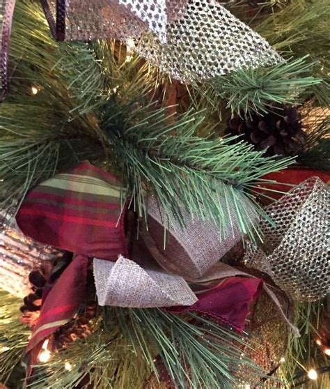 tree ribbon decoration how to decorate a tree with ribbon hometalk