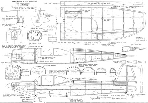 design blueprints for free emeraude article plans april 1969 american aircraft modeler airplanes and rockets
