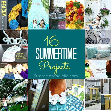 diy summer craft projects 16 diy summertime projects to make tatertots and jello