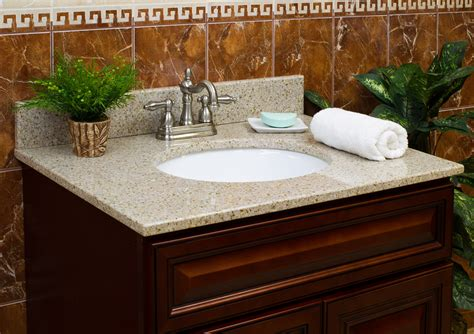 granite vanity tops for bathrooms lesscare gt bathroom gt vanity tops gt granite tops gt wheat