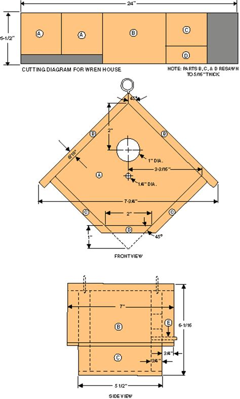house wren birdhouse plans free bird house woodworking plans from shopsmith