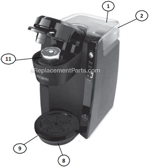 Mr. Coffee BVMC KG5 Parts List and Diagram : eReplacementParts.com