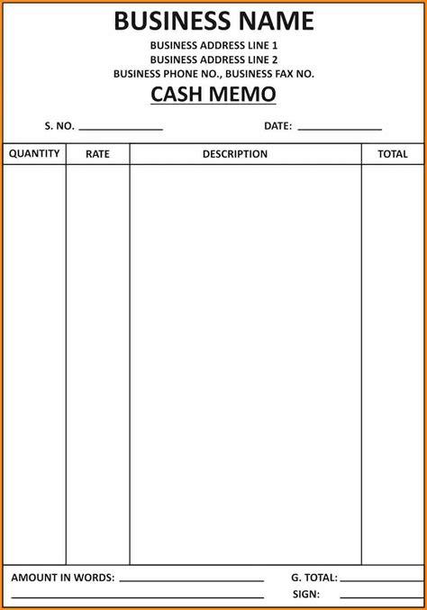 free professional business memo template calendar