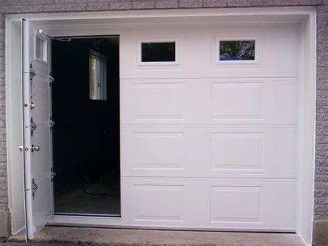 garage door with pedestrian door garage doors with door smalltowndjs